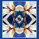 Scarf - Magnolia patterns by scallyart