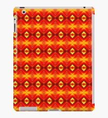 Red Abstract Mirror Pattern iPad Case/Skin