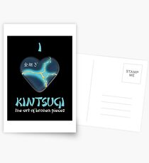 i love kintsugi Postcards