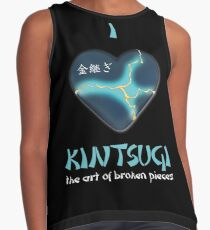 i love kintsugi Kontrast Top
