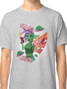 Space Punk Chick! Classic T-Shirt