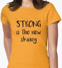 Stark ist das neue Skinny Tailliertes T-Shirt für Frauen
