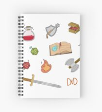 DnD Spiral Notebook