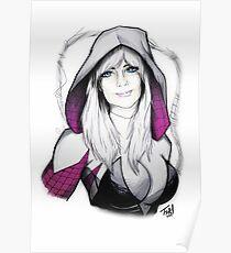 Spider-verse Spider-Woman Poster