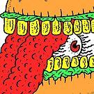 Eyeball Burger by wolfmaskart