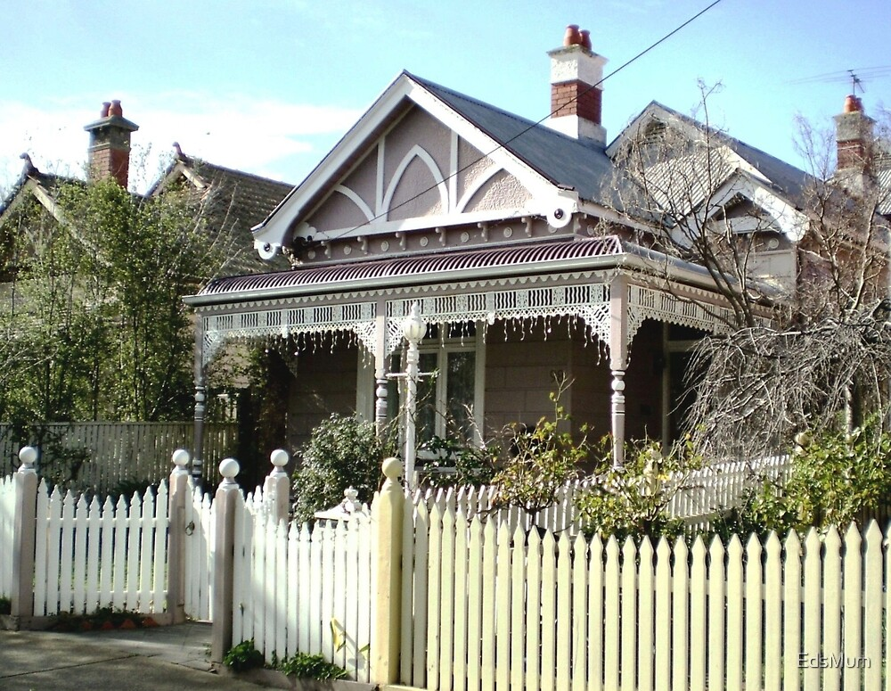 Early Victorian Cottage - Williamstown, Vic. Australia by EdsMum