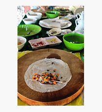 traditional Vietnamese food Photographic Print