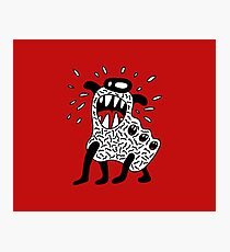 Cool Monster Illustration Photographic Print