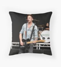 Danny Jones [McFly]; Live Print. 13th August 2011. Throw Pillow