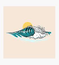 Balinese Wave Photographic Print