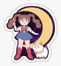 Sailor Bee and Puppycat Sticker