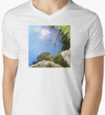 Reflection in a mountain stream T-Shirt