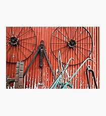 Wall of Wheels Photographic Print