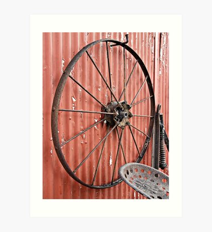 Wheel Wall Art Print