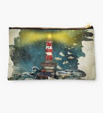 The sea is poetry Studio Pouch