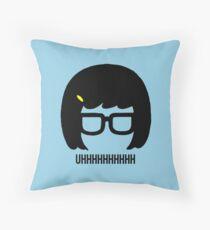 Tina Uhhhhh Throw Pillow