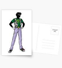 Earth Boy Postcards