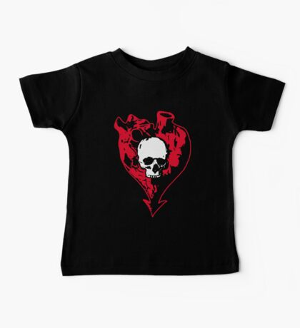 Heart and Skull Kids Clothes