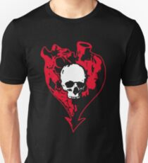 Heart and Skull Unisex T-Shirt