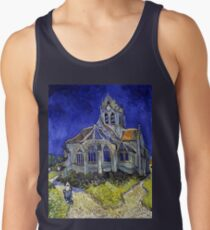 Vincent Van Gogh Die Kirche in Auvers Tank Top