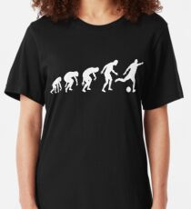 Evolution of a Soccer Player Slim Fit T-Shirt