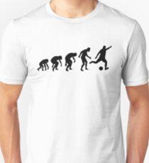 Evolution of a Soccer Player Unisex T-Shirt
