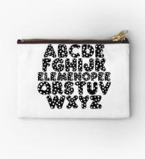 Elemenopee Alphabet Funny Studio Pouch