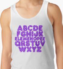 Elemenopee Alphabet Funny Men's Tank Top