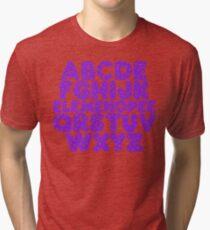 Elemenopee Alphabet Funny Tri-blend T-Shirt