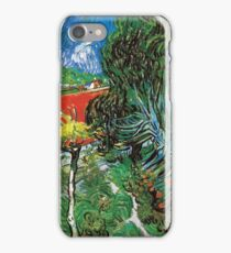 Vincent van Gogh The Garden of Dr. Gachet in Auvers iPhone Case/Skin