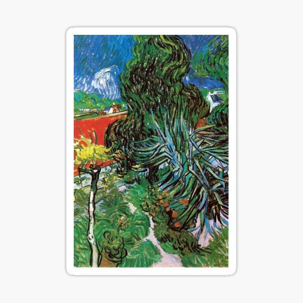Vincent van Gogh The Garden of Dr. Gachet in Auvers Sticker
