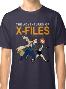 Tin Tin X-Files Classic T-Shirt