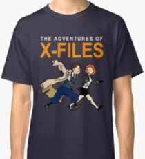 Tin Tin X-Files Classic T-Shirt