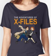 Tin Tin X-Files Women's Relaxed Fit T-Shirt