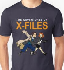 Tin Tin X-Files Unisex T-Shirt