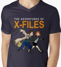 Tin Tin X-Files T-Shirt