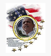 44th President Photographic Print