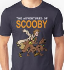 Tin Tin Scooby and Shaggy Unisex T-Shirt