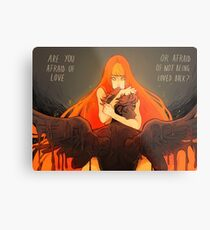 Love and Fear Metal Print