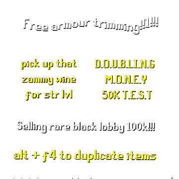 Runescape scam school by lukeshirt