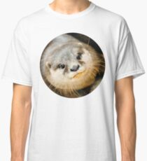 Otter Closeup Classic T-Shirt