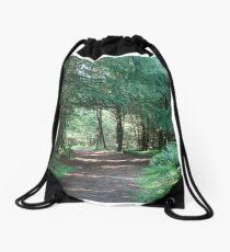 The Forest walk at Dalby Drawstring Bag