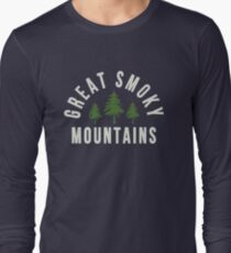 Great Smoky Mountains National Park Long Sleeve T-Shirt