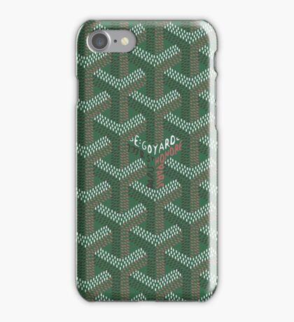 Goyard vert iPhone Case/Skin
