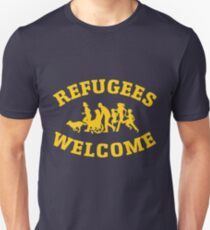 refugees welcome, no one is illegal Unisex T-Shirt