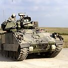 US Army M3A2 Bradley Fighting Vehicle  by Andrew Harker