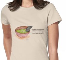 Gerbil In Pea Soup Womens Fitted T-Shirt