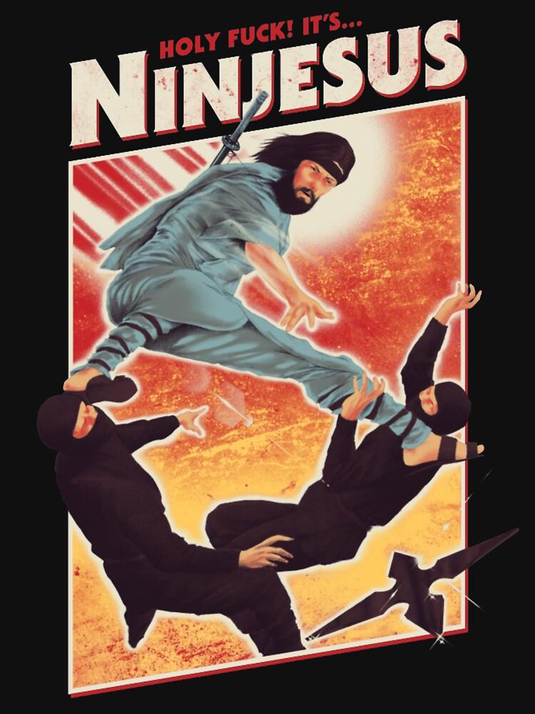 The Jesus Ninja by myuharu