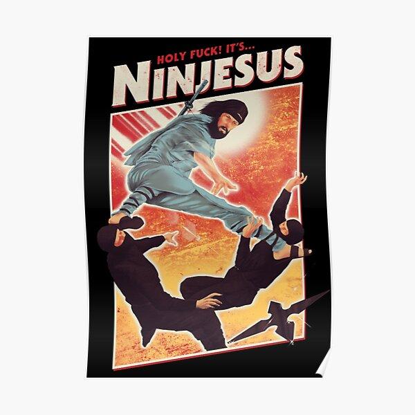 The Jesus Ninja Poster