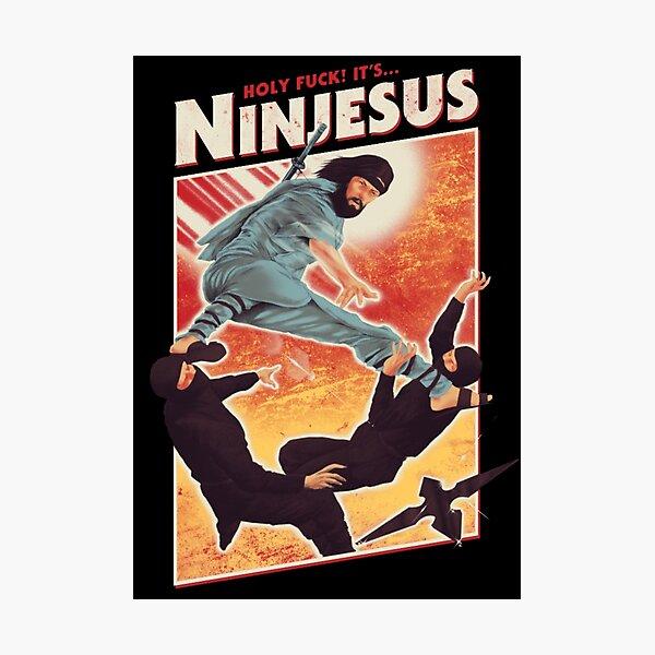 The Jesus Ninja Photographic Print